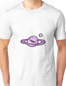 cartoon planet symbol Unisex T-Shirt