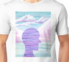 Yupo Painting | Purple Sky Unisex T-Shirt