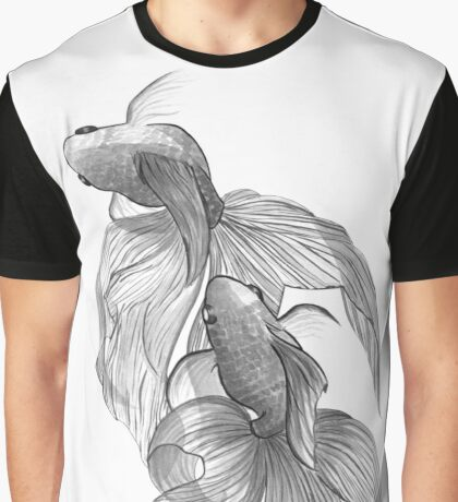 Zen Fishes Graphic T-Shirt