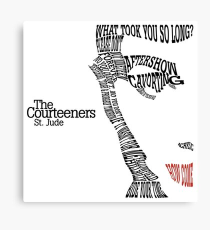 The Courteeners Canvas Print