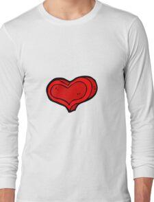 cartoon love heart Long Sleeve T-Shirt