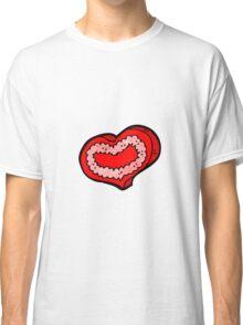 cartoon love heart Classic T-Shirt