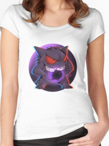 Pokemon - Ghost Haunter Women's Fitted Scoop T-Shirt