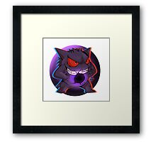 Pokemon - Ghost Haunter Framed Print