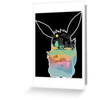 THE SPECTRUMS OF EEVEE Greeting Card