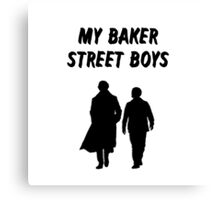 My Baker Street Boys {FULL} Canvas Print