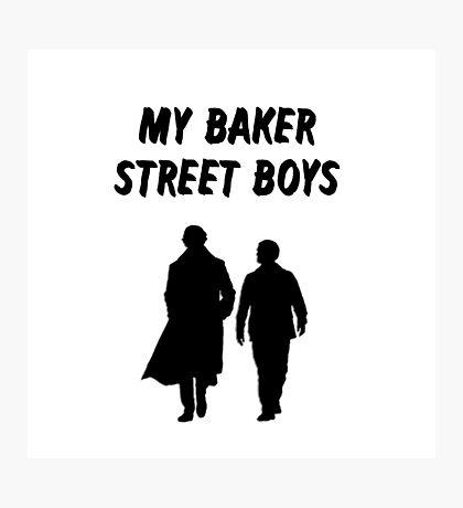 My Baker Street Boys {FULL} Photographic Print