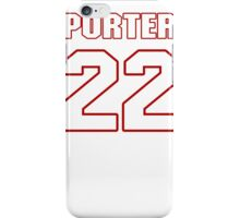 NFL Player Tracy Porter twentytwo 22 iPhone Case/Skin