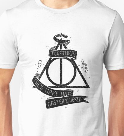 Harry Potter - Deatlhy Hallows  Unisex T-Shirt