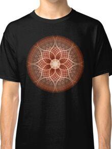 Trance Lotus Mandala Classic T-Shirt