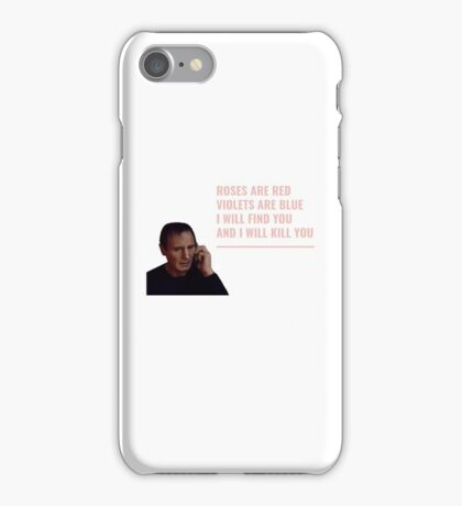 LIAM NEESON ROSES ARE RED iPhone Case/Skin