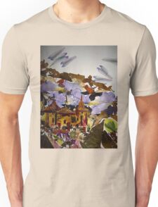 Ancient Temples in Jungle , Unisex T-Shirt