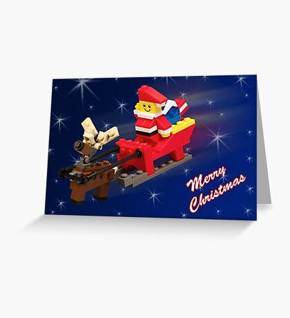 Santa is on His Way! Greeting Card