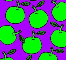 La Mela Isola - She'll Be Apples Framed Print by la-mela-isola