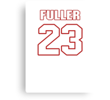 NFL Player Kyle Fuller twentythree 23 Canvas Print