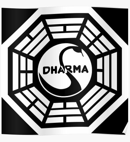 The Dharma Initiative The Swan  Poster