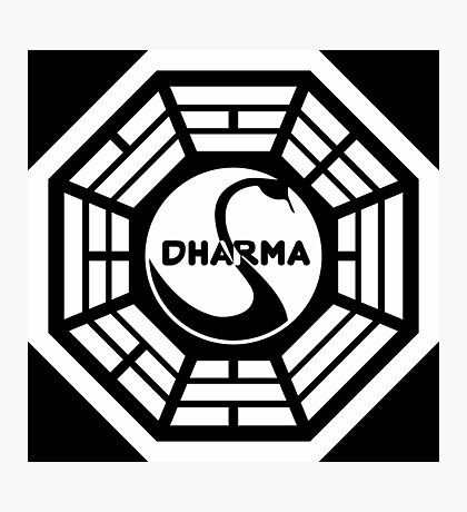 The Dharma Initiative The Swan  Photographic Print