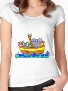 Noah's Ark Women's Fitted Scoop T-Shirt