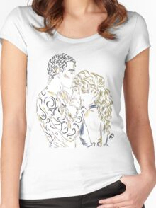 Feyre and Rhys Women's Fitted Scoop T-Shirt