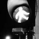 Walk your way - Hong Kong street sign by Courtney Taylor