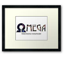 A Wrestling Visionary - Kenny Omega Framed Print