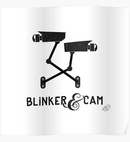 Blinker & Cam Logo Merchandise Poster