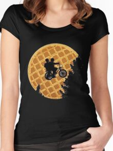 Eggo's Things  Women's Fitted Scoop T-Shirt