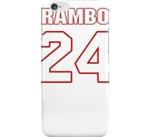 NFL Player Bacarri Rambo twentyfour 24 iPhone Case/Skin