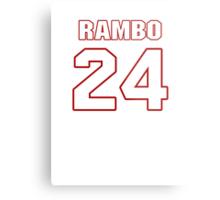 NFL Player Bacarri Rambo twentyfour 24 Metal Print