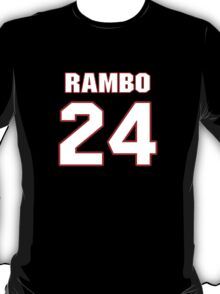 NFL Player Bacarri Rambo twentyfour 24 T-Shirt