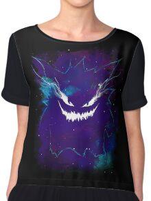Poisoned Nebula Chiffon Top