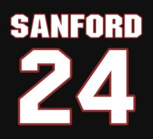 NFL Player Jamarca Sanford twentyfour 24 by imsport