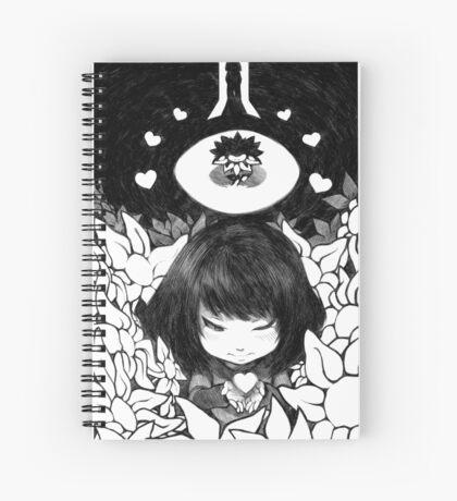 FRISK THE HUMAN CHILD Spiral Notebook