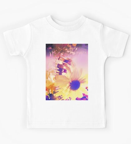 Floral Abstract Kids Tee
