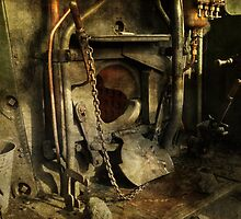 Steam Engine Furnace by Alexandra Lavizzari