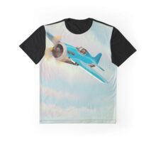 Vintage Aircraft Graphic T-Shirt