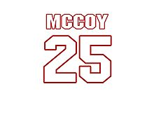 NFL Player LeSean McCoy twentyfive 25 Photographic Print