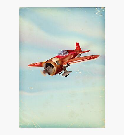 Old Soviet plane Photographic Print