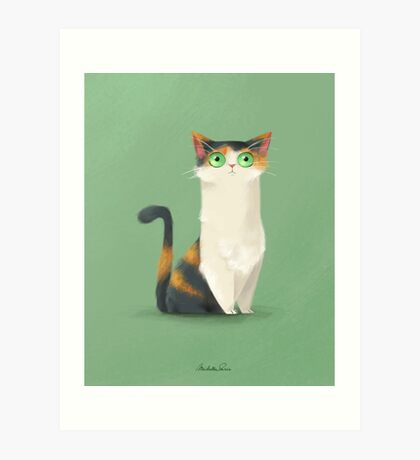 Cuki, why so nervous? Art Print