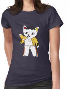 FreddieMeow 2 Womens Fitted T-Shirt
