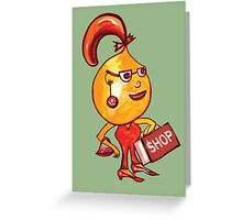 Shopping Greeting Card