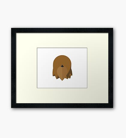 Chewbecca , star wars Framed Print