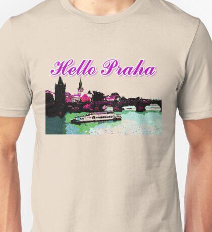 Beautiful praha castle& bridge art Unisex T-Shirt