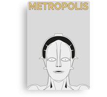 HEL in Metropolis Canvas Print