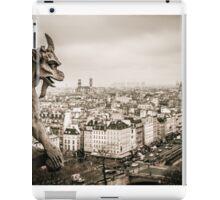Gargoyles of Notre-Dame iPad Case/Skin