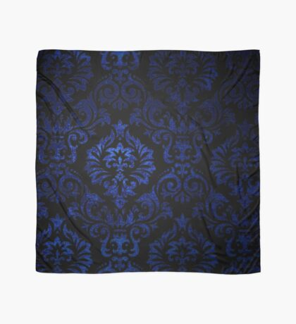 Doctor Who - Tardis Blue Damask Pattern Scarf