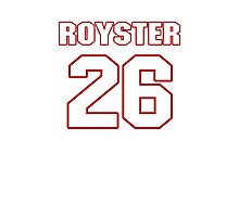 NFL Player Evan Royster twentysix 26 Photographic Print