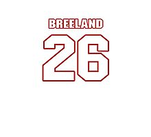 NFL Player Bashaud Breeland twentysix 26 Photographic Print