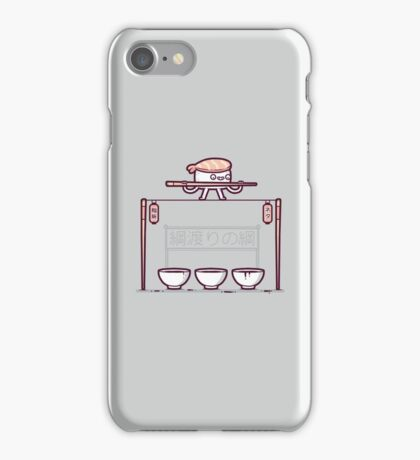 Sushi tightrope iPhone Case/Skin