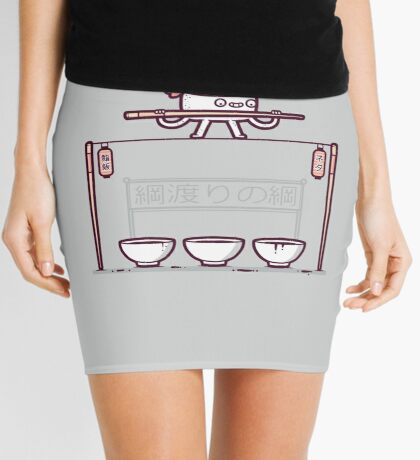 Sushi tightrope Mini Skirt